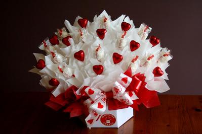 шоколад на День Святого Валентина