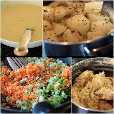 как готовить жареные картофельные шарики