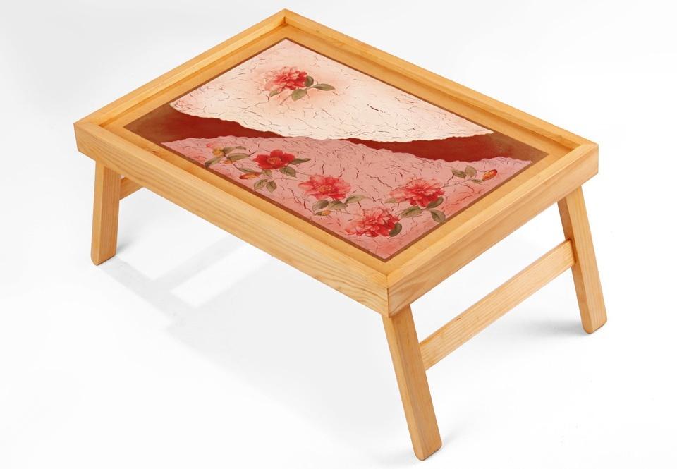 Актуальный подарок на 8 марта- столик для завтрака в постель