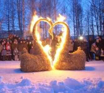 Огненные скульптуры