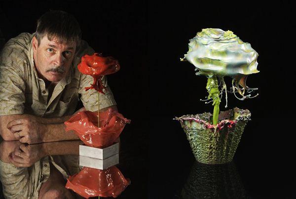 современное искусство фотографии - цветы