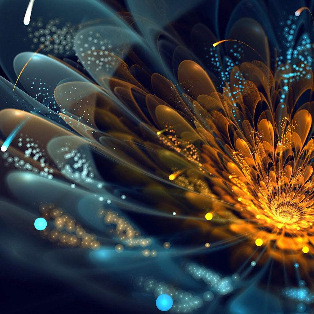 фрактальная графика фото цветы
