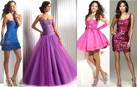 Шикарные платья на выпускной 2014
