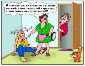 анекдоты про семью смешные в картинках