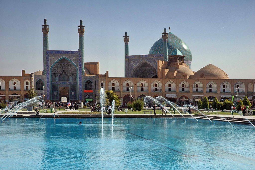 Путешествие в Иран, мечеть