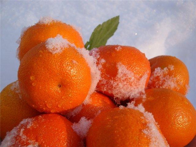мандарины к новому  году