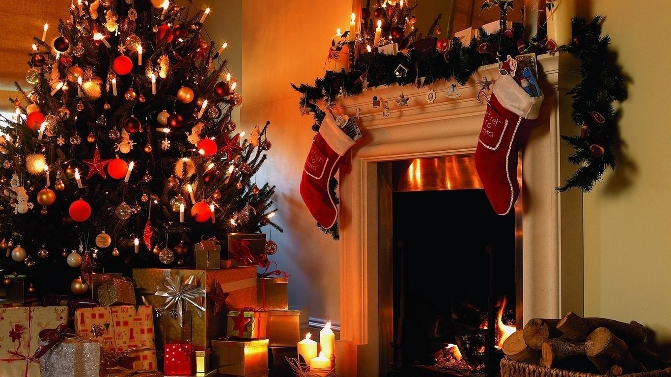 подарки, новогодние игрушки елочка