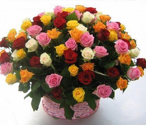 Купить красивый букет роз в Москве