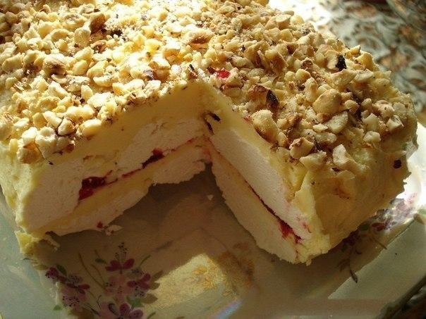 зефирный торт рецепт с фото