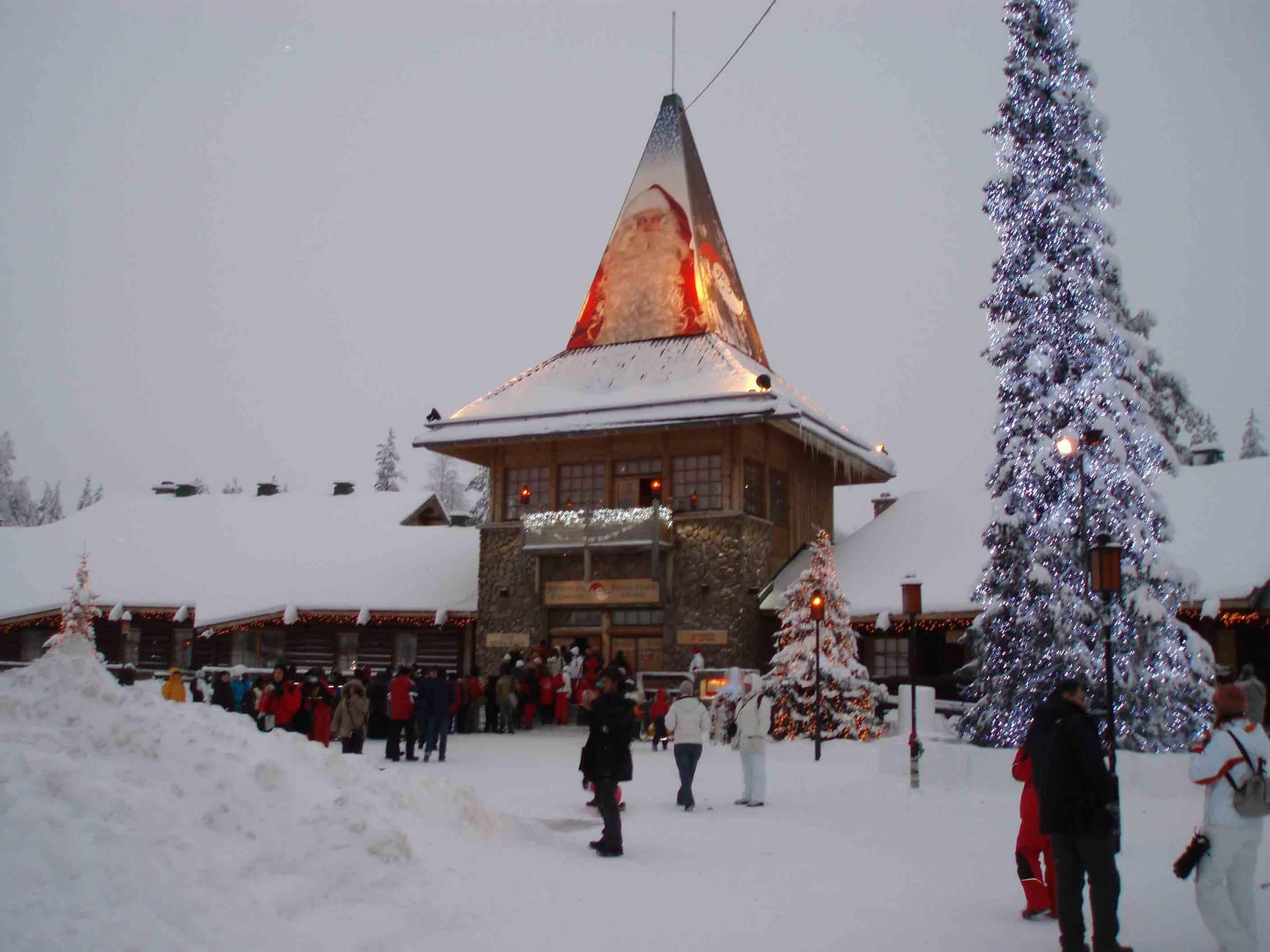 Зимние праздники в Финляндии