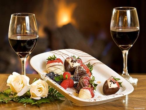 десерт для романтического ужина на 8 марта