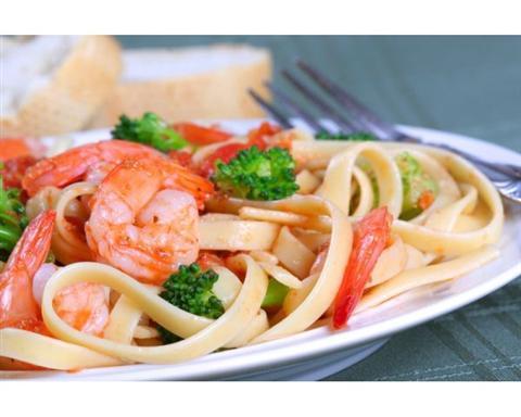 вкусная еда в итальянском ресторане