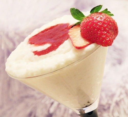 Молочный десерт рецепт с ягодами
