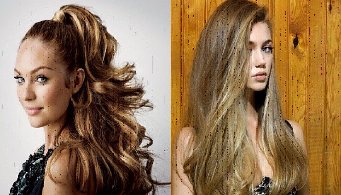 Красивая прическа наращенные волосы