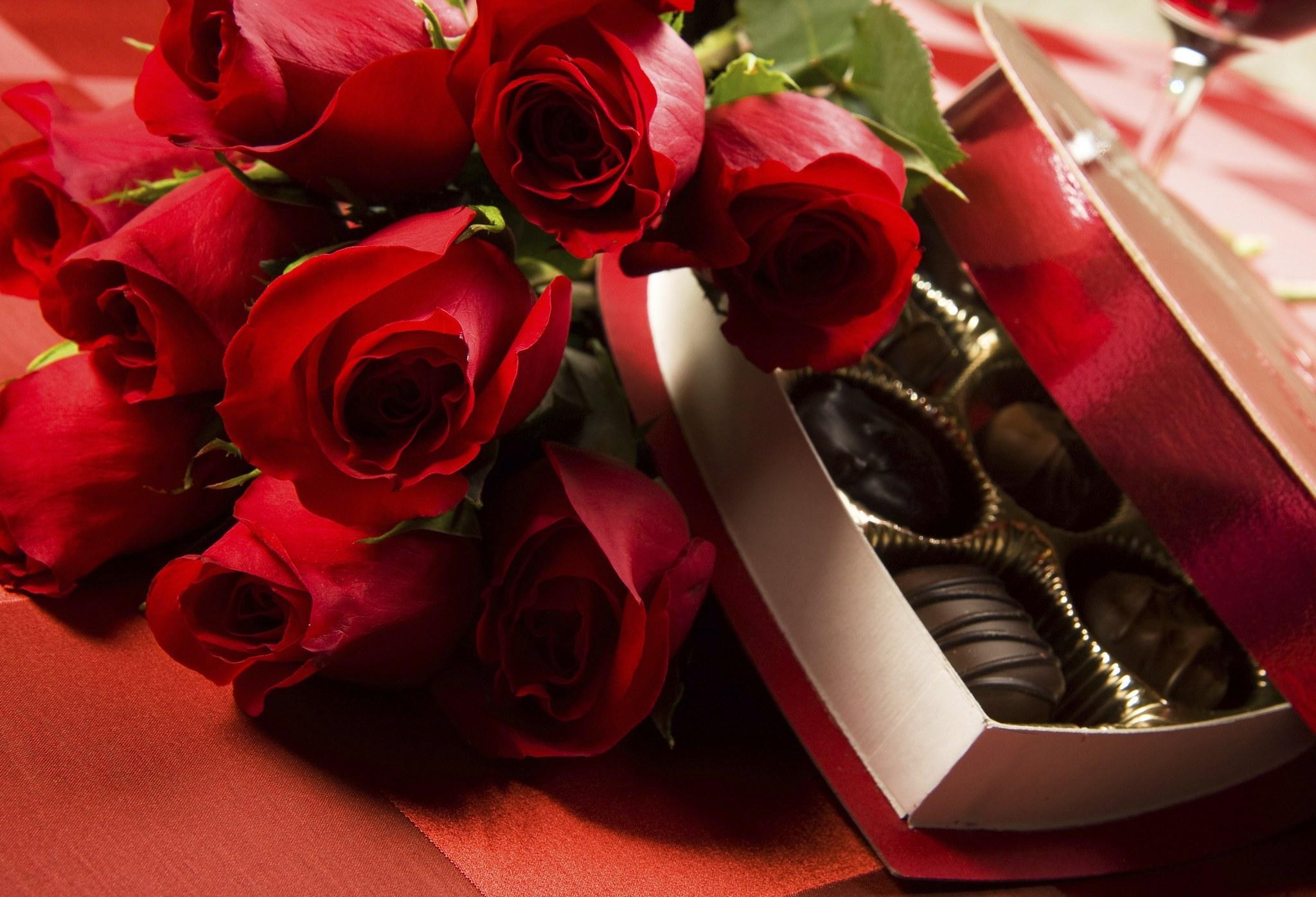 букет цветов на праздник
