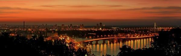 Осень на Подоле Киев