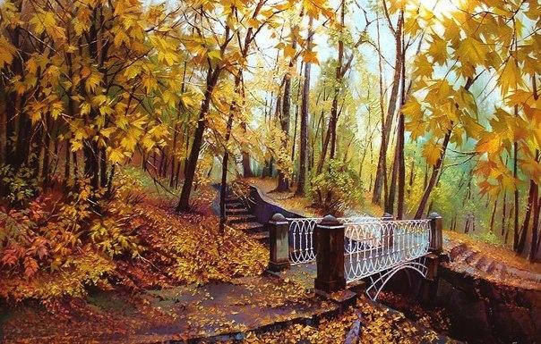 красивые места Украины осень