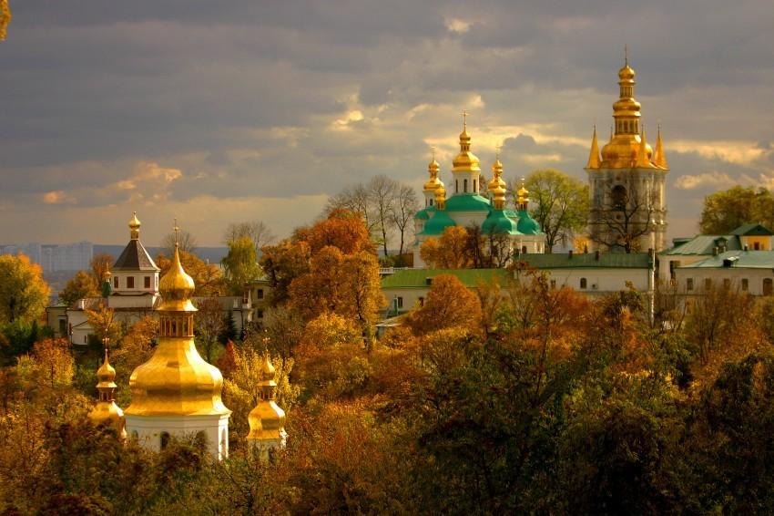 красивые места Украины осенью