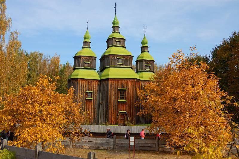Пирогово красивые места Украины