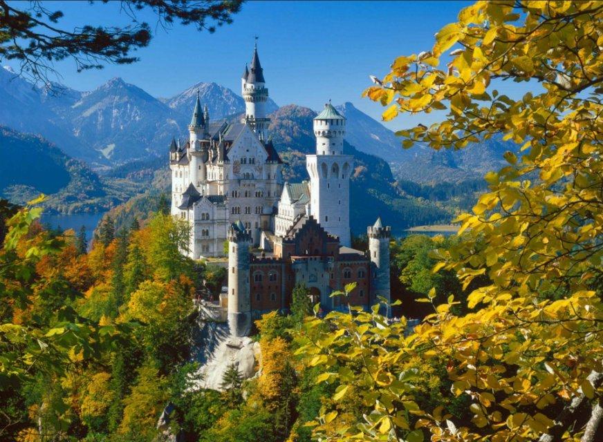 замки германии фото с названиями