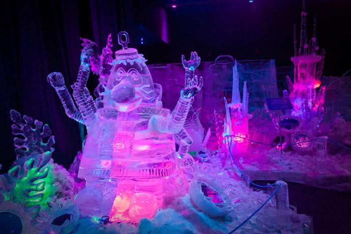 """ледяные скульптуры """"сокольники"""""""