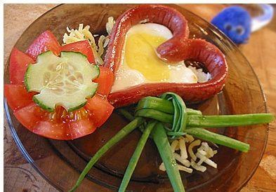 завтрак ко Дню Влюбленных