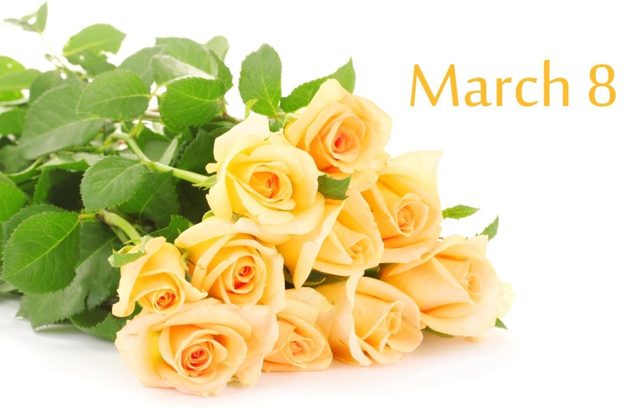 картинки цветов на 8 марта