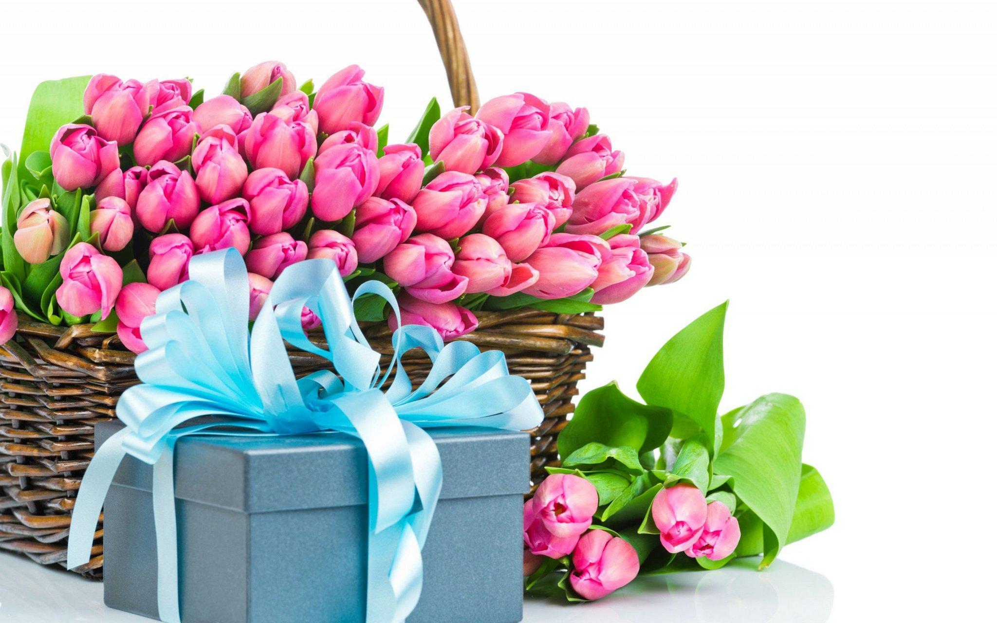 цветы букет на 8 марта