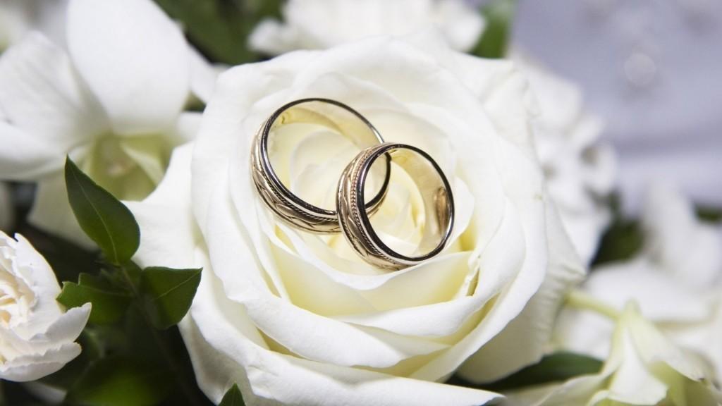 белые розы для невесты