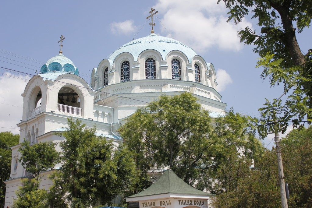 Крым, лето, отдых, собор