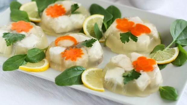 рыбное заливное рецепт