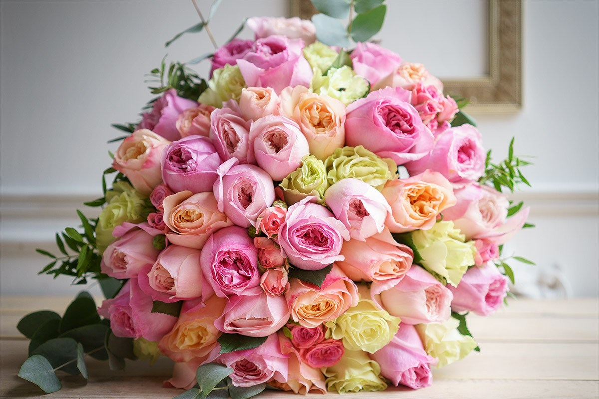 Красивый букет цветы 87