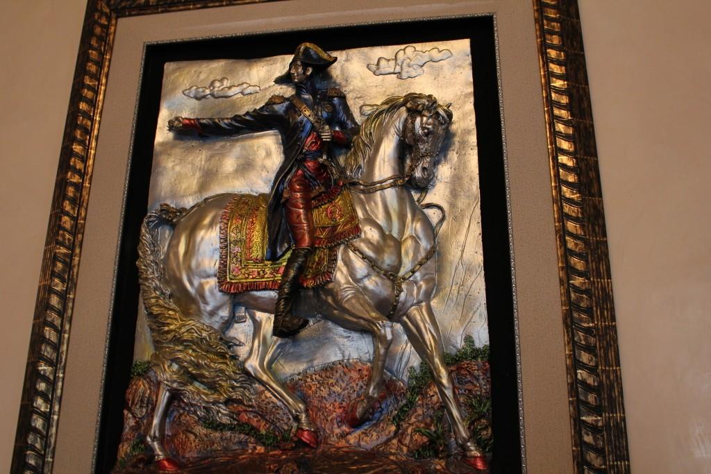 лошадь картина
