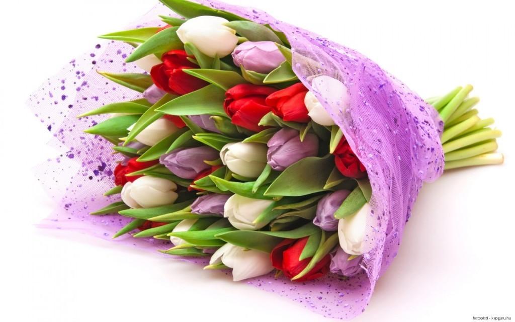 купить цветы на 8 марта