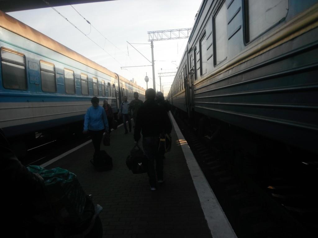 поезд Кременчуг