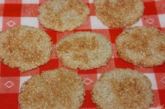 постное кунжутное печенье