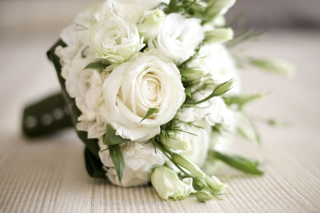 свадебный букет невесты