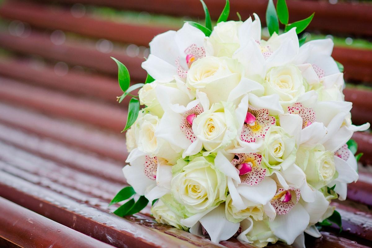 Обои для рабочего стола розы свадебные