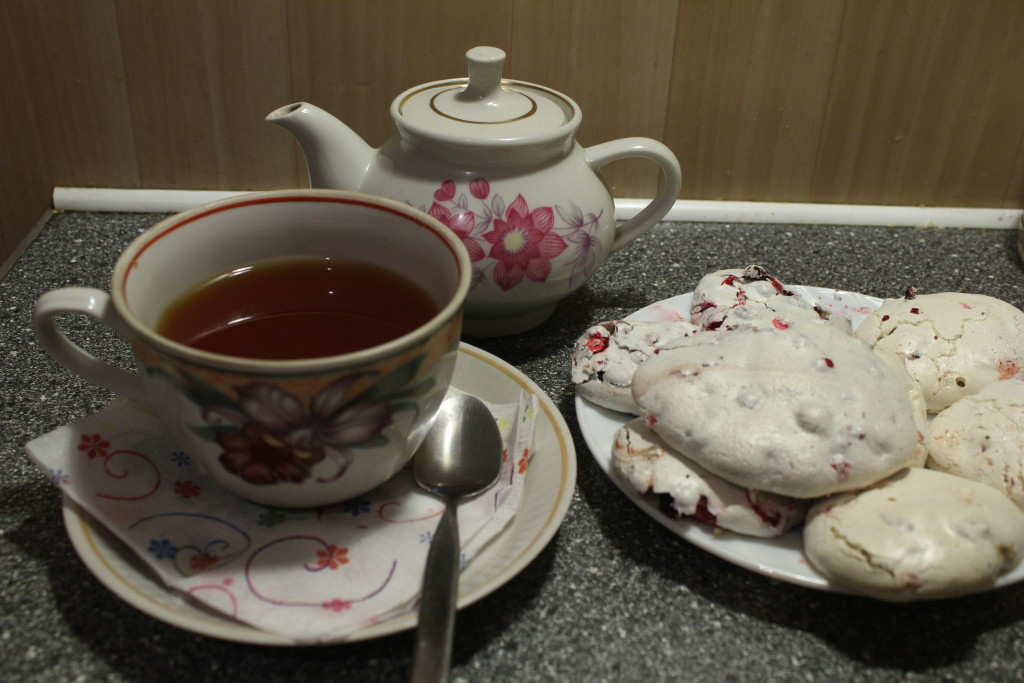 чай и безе