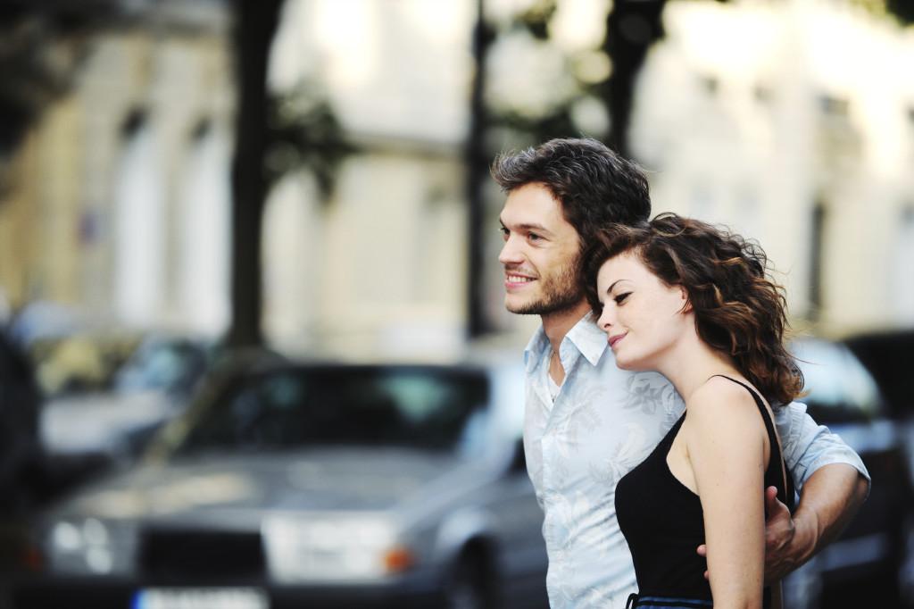 парень и девушка романтика