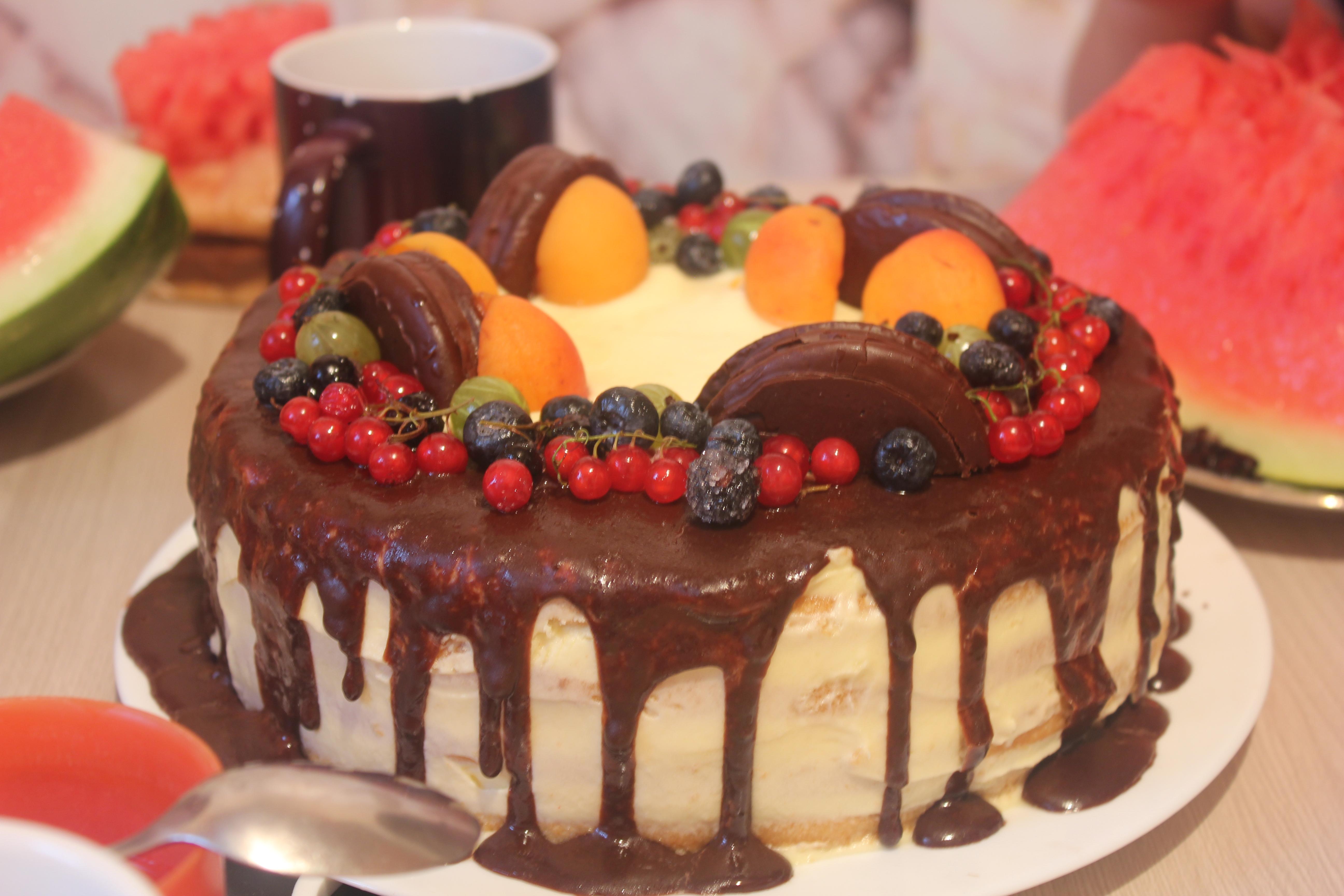 рецепты тортов на день рождения маме в домашних условиях