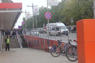 """Петрозаводск, эвакуация ТЦ """"Тетрис"""""""