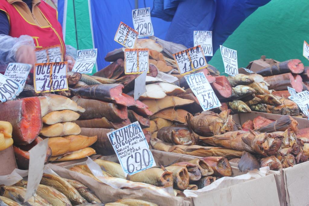 цены на рыбу в Карелии