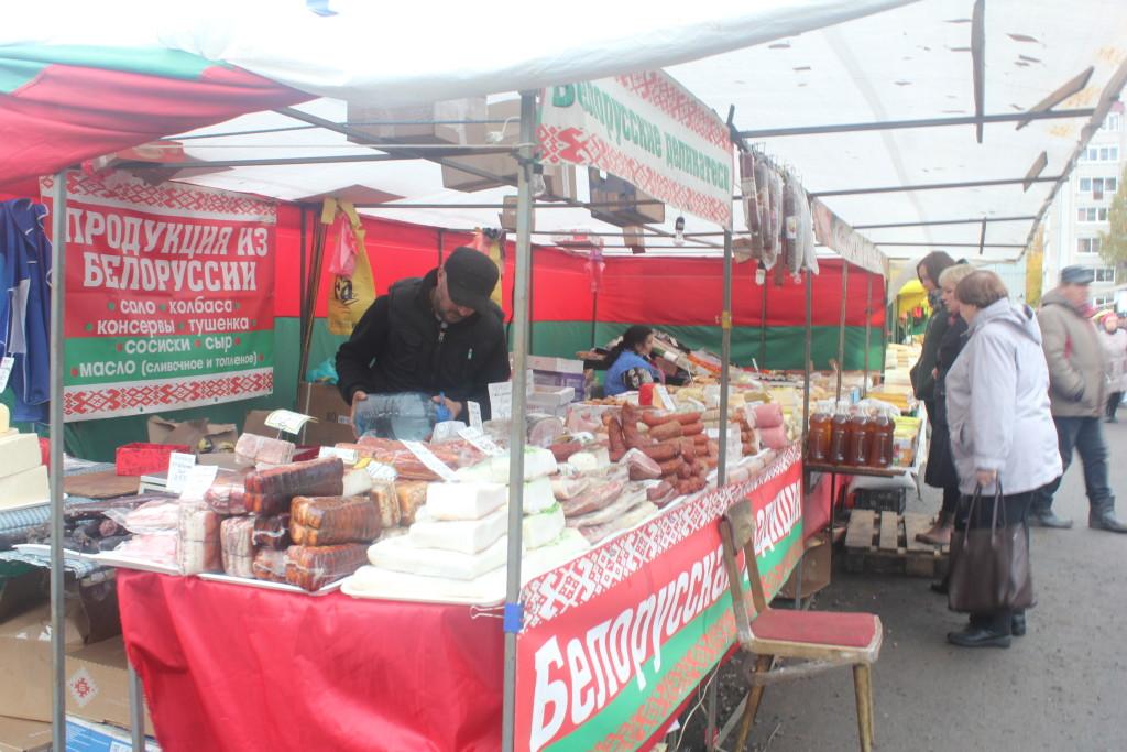 белорусская продукция в Карелии
