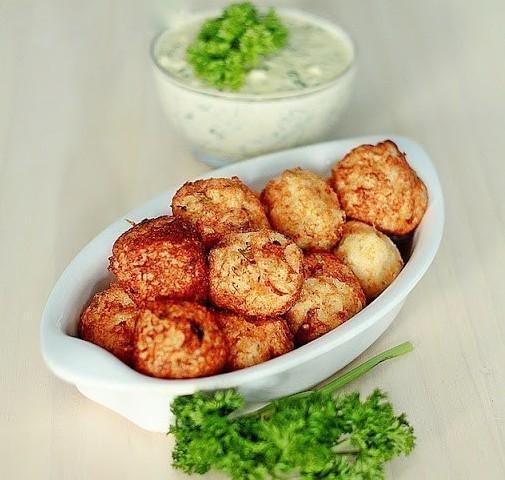 жареные картофельные шарики