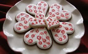 печенье-сюрприз на день святого валентина