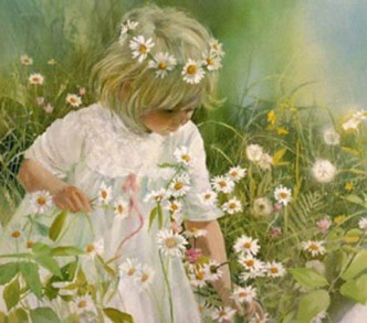 детские стихи про цветы ромашки с фото