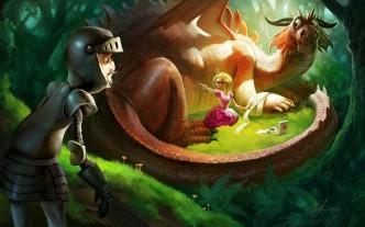 Как принцессы остаются с драконами