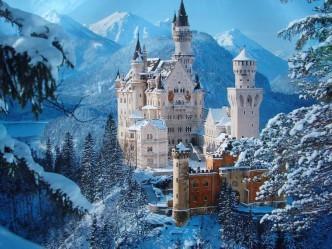 сказочный дворец в Германии