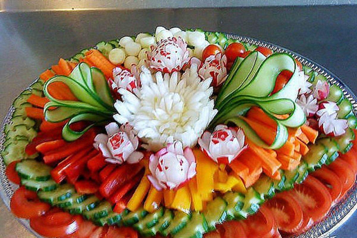 Фото красивых праздничных блюд